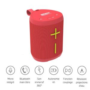 POWER ACOUSTICS - GETONE 20 - Enceinte Nomade Bluetooth Compacte