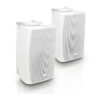 "CWMS 42 W 100 V - Enceinte 2 voies 4"" fixation murale blanche, version 100 Volts"
