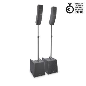 LD Systems CURV 500 PS - Système line array portable « Power Set » avec barres