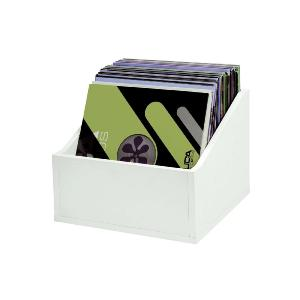 GLORIOUS RECORD BOX ADVANCED 110 WHITE - Casiers Rangement 110 Vinyles Finition