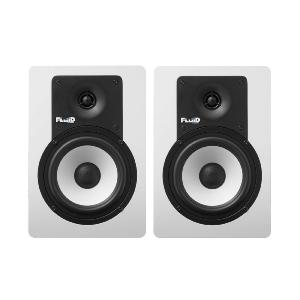"FLUID AUDIO - C5 BTW - Enceinte monitoring 5"" Bluetooth blanche - vendue par paire"