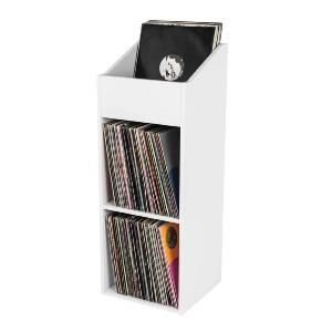 GLORIOUS - RECORD BOX 330 WHITE - Casier de rangement 330 vinyles finition blanc