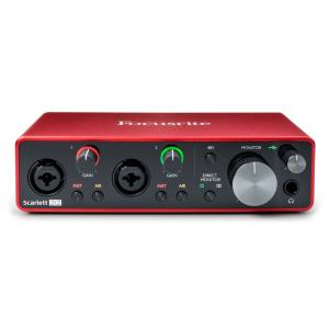 FOCUSRITE - SCARLETT3-2I2 - Interface audio - USB - 2 in/2 out USB-C