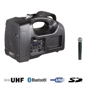 SONO PORTABLE BE 1400 UHF + USB + 1 MICRO MAIN UHF + BLUETOOTH