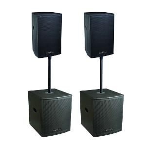 DEFINITIVE AUDIO  KOALA NEO 3600 QUAD - Pack 2xKoala 12aw DSP + 2xKoala 15aw SUB
