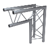 Structure Global Truss série F23 - 90° ANGLE C25