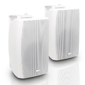 "CWMS 52 W 100 V - Enceinte 2 voies 5,25"" fixation murale blanche, version 100 Vo"