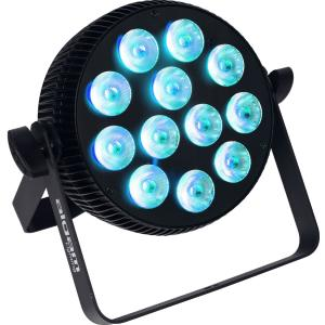 ALGAM LIGHTING LAL SLIMPAR-1210-QUAD - Projecteur à LED 12 x 10W RGBW