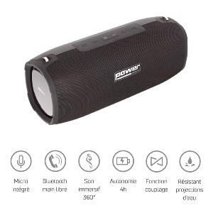 POWER ACOUSTICS - GETONE 50 - Enceinte nomade Bluetooth Compacte