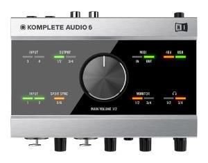 Carte Son Native Instruments - KOMPLETE AUDIO 6