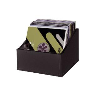 GLORIOUS RECORD BOX ADVANCED 110 BLACK - Casiers Rangement 110 Vinyles Finition