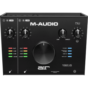 M-AUDIO - RMD AIR192X6 - Interface audio - Air - 2 entrées / 2 sorties + MIDI