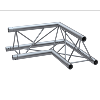 Structure Global Truss série F33 - Angle 90° 0.50 Mêtres - 3 connecteurs incl.