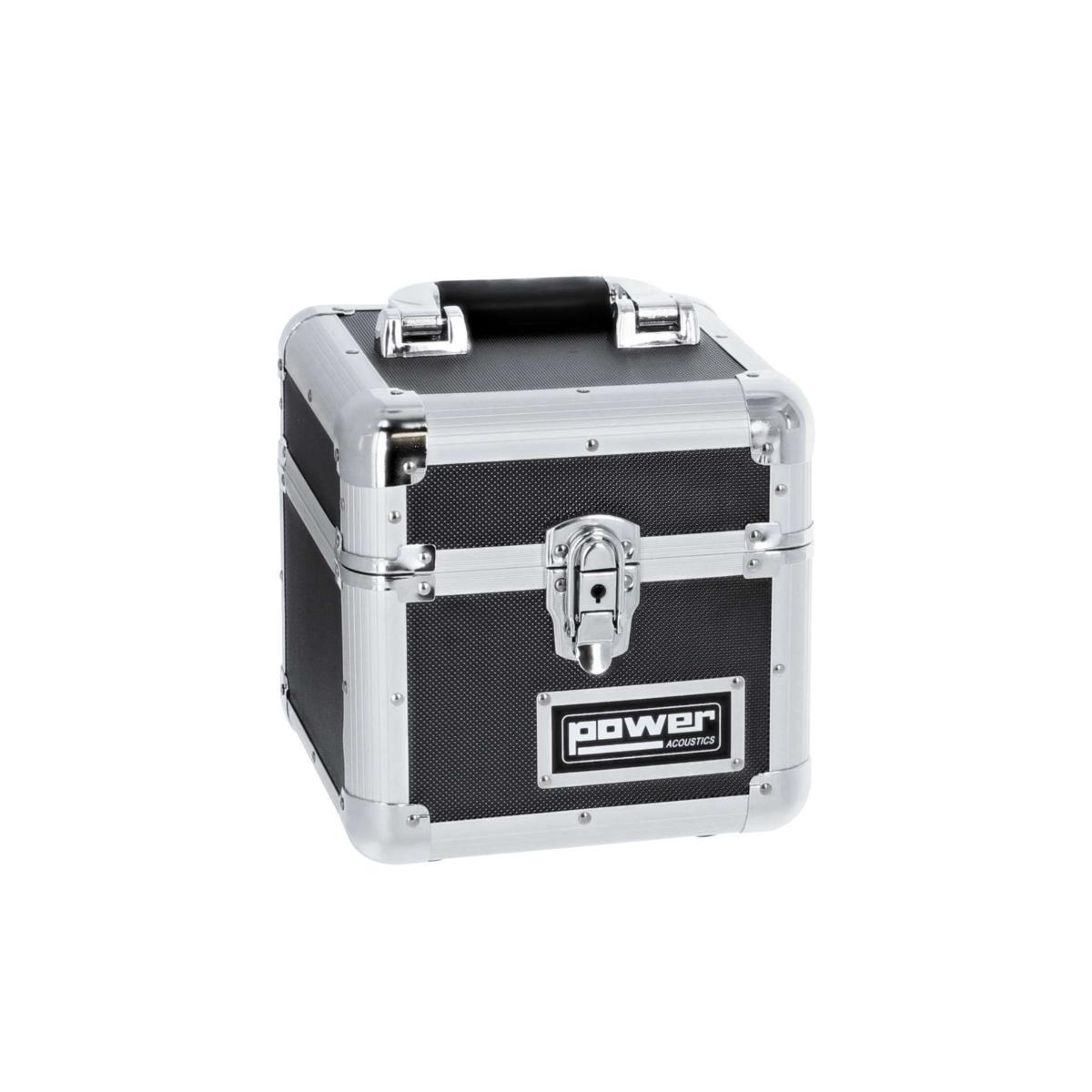 Rangement Vinyl 45 Tours power acoustics - fl rcase 45-60bl - valise de rangement pour 60 vinyles 45t