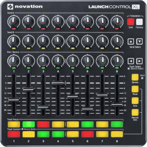 NOVATION RNO LAUNCH-CONTROL-XL-B - controleur 24 pots - 8 faders - 16 pads